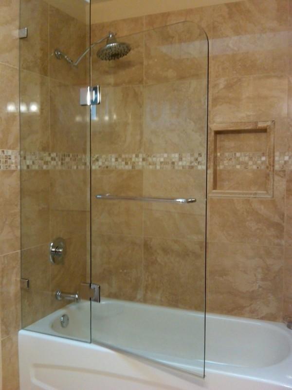 bathtub shower doors 1