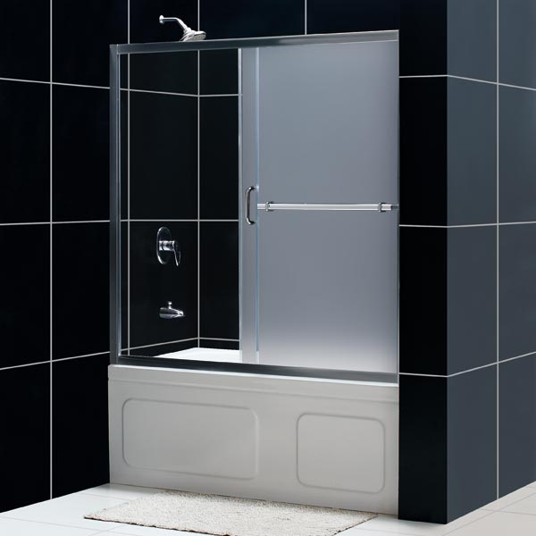 bathtub shower doors 1