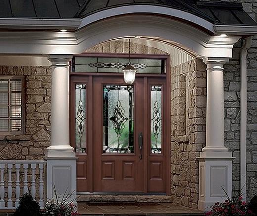 entry Fiberglass doors 1