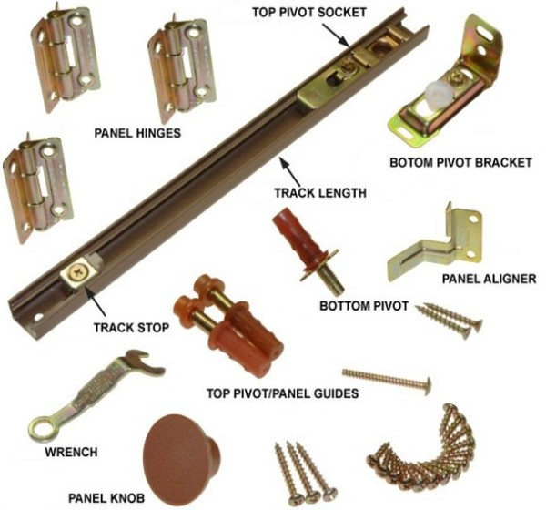 folding door hardware 1
