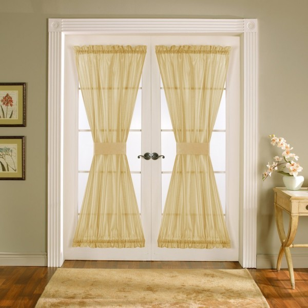 french door curtains 1