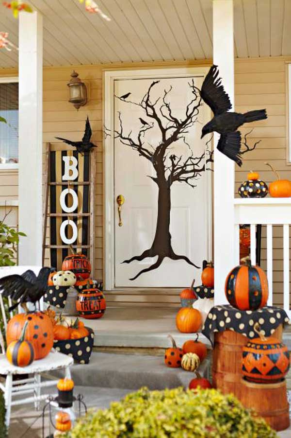 halloween door decorations 3