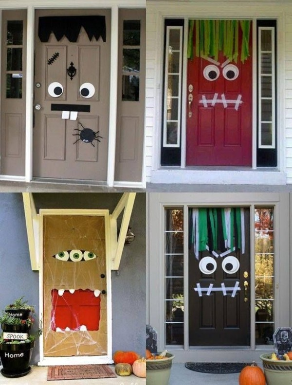 11 Halloween door decorations