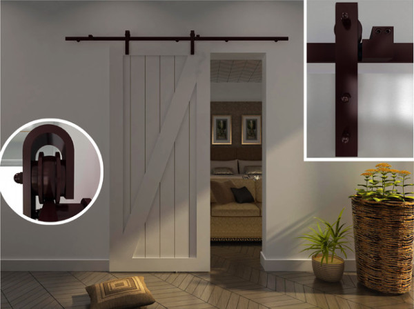 10 Barn door designs – ideas 2015 / 2016