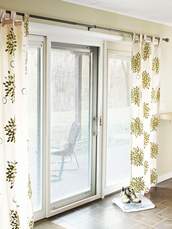 sliding door curtains 3