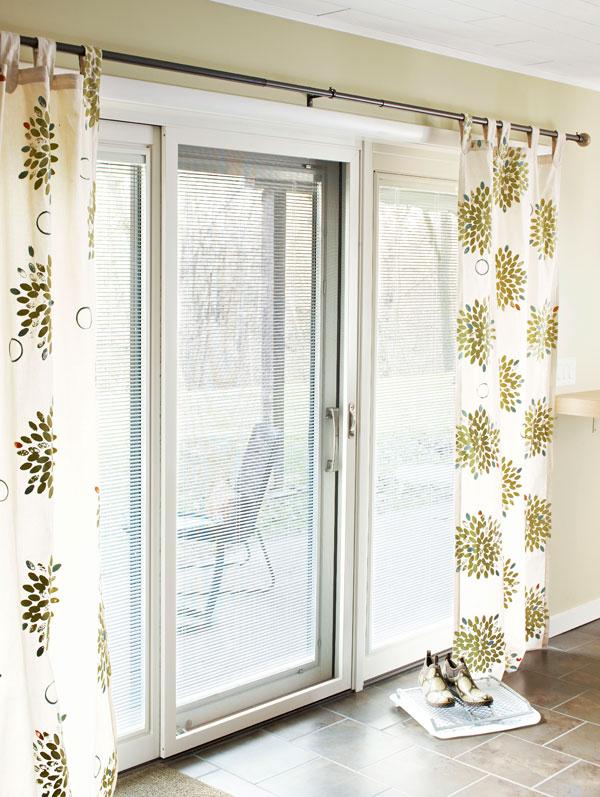 sliding door curtains 3
