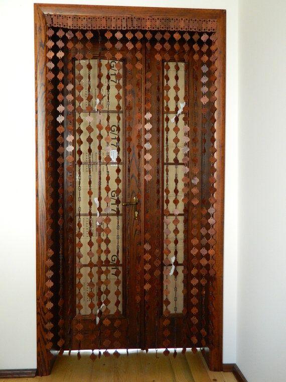wooden door beads 1