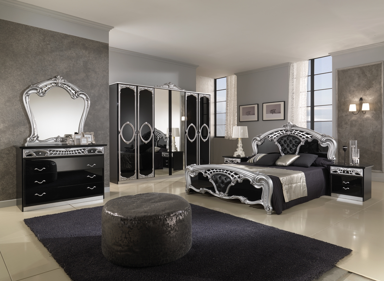 Mirrored Bedroom Furniture Ideas Intended For Mirrored Glass Bedroom Furniture Regarding Motivate - JABLEH.COM