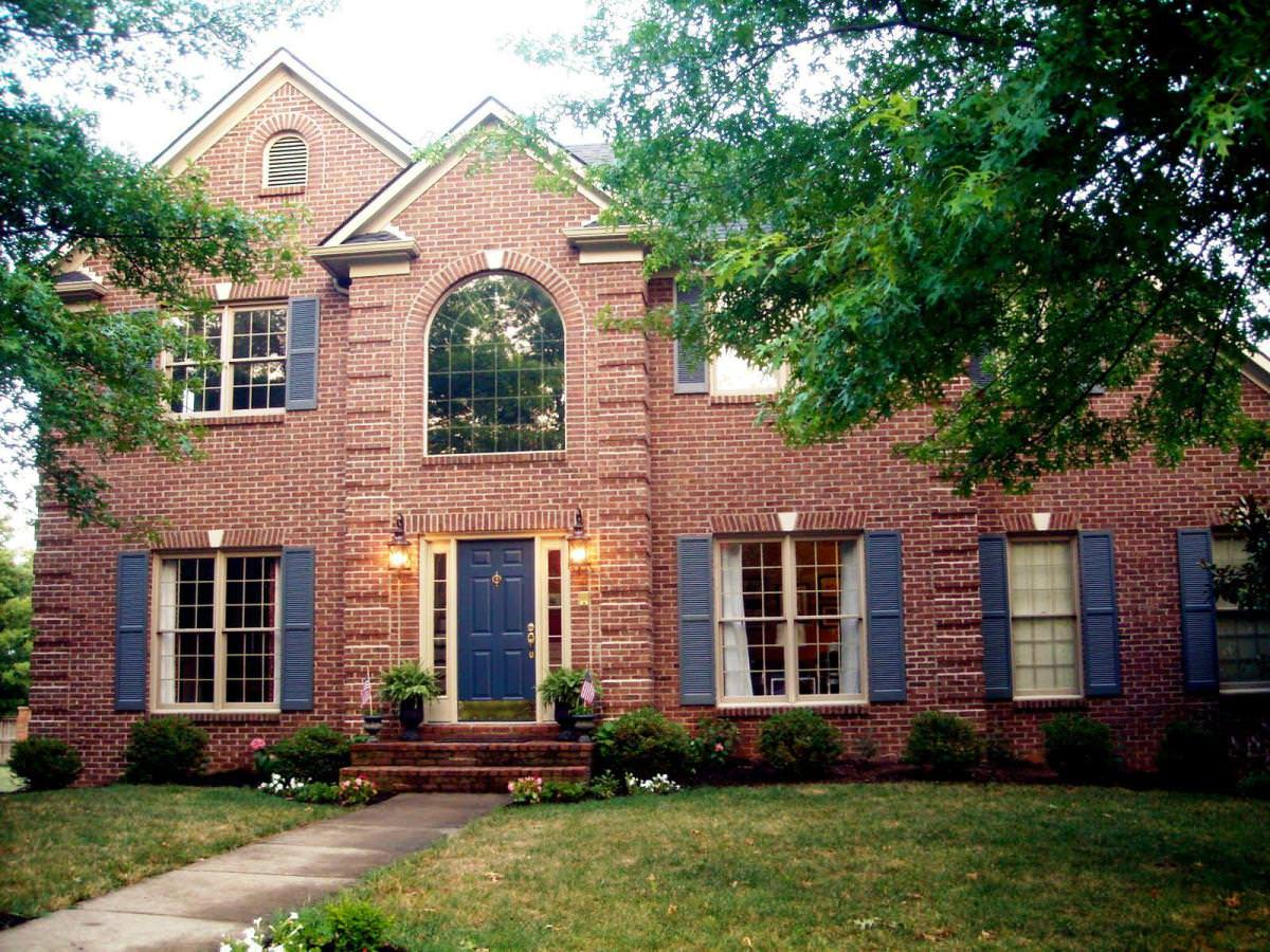 Exterior Paint Colors With Red Brick Photo 8