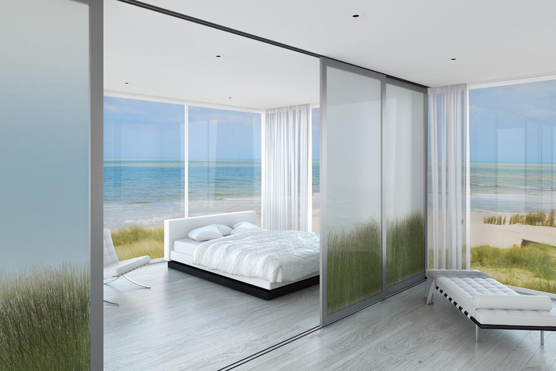 Sliding Glass Luxury Modern Room Dividers