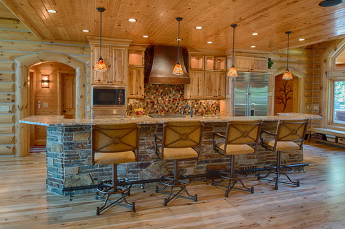 Kitchen-design-ideas-for-log-homes-photo-4