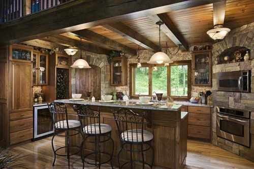 Kitchen-design-ideas-for-log-homes-photo-5