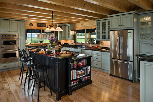 Kitchen-design-ideas-for-log-homes-photo-7