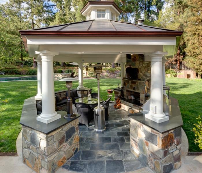 20 Beautiful Outdoor Kitchen Ideas: 20 Combinations Of Indoor And