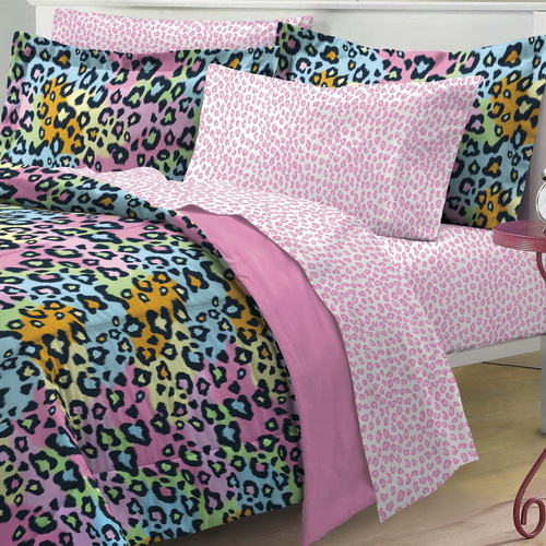 Rainbow-cheetah-bedding-photo-10