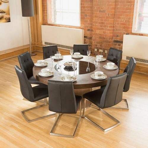 large round dining table for 8