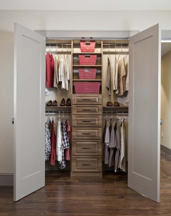 Closet Organizing Ideas Home Design Ideas Intended For Awesome Small Walk In Closet Designs