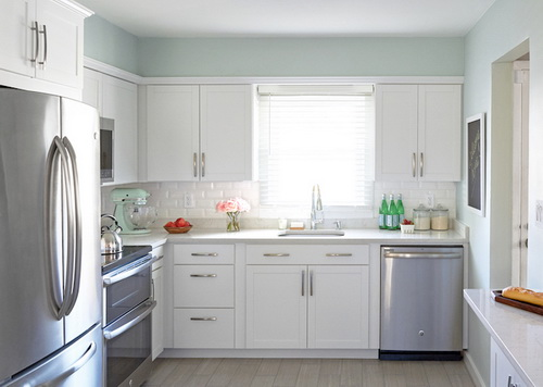 White Kitchen Cabinets From Lowes