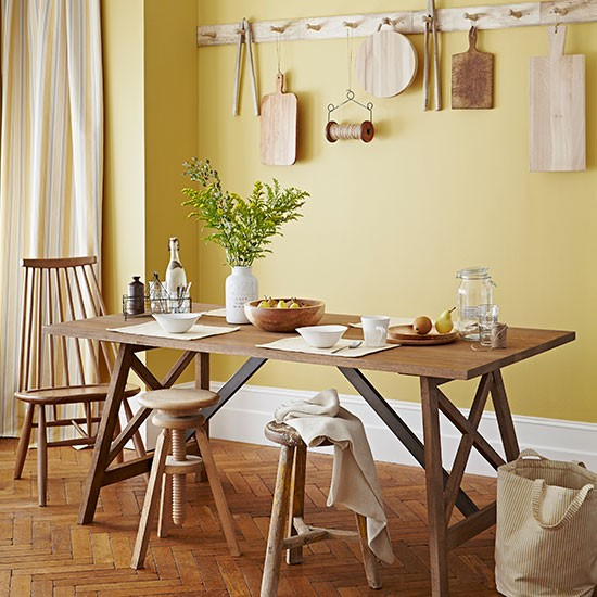 25 Best Yellow Dining Rooms – Design ideas in 2016