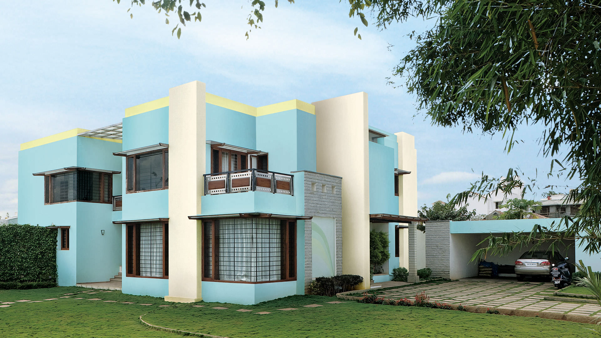 Top 20 Best Asian Paints Colour Shades For Exterior Walls Interior