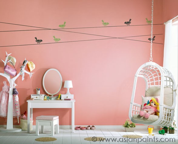 TOP Asian paints colour shades for kids room 2019