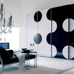 Black mirrored glass bedroom furniture – make your home vintage modernity