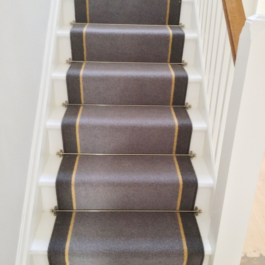 Replacing Carpet With A Stair Runner: Carpet Runner For Stairs Over Carpet