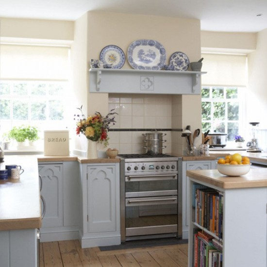 Country cottage kitchen designs – make a lively and liveable working space