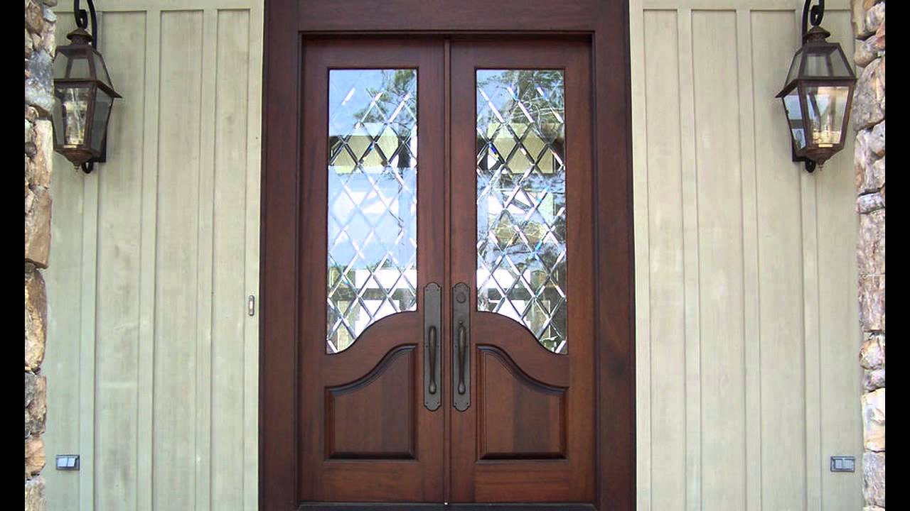 French Exterior: French Country Double Entry Doors Give Charming