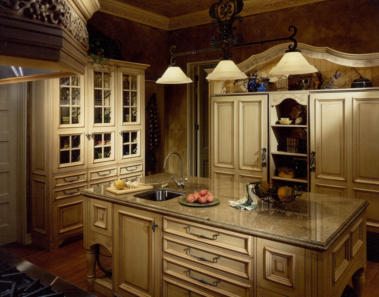 interesting french country kitchen wall decor   20 Things to consider before making French country kitchen ...
