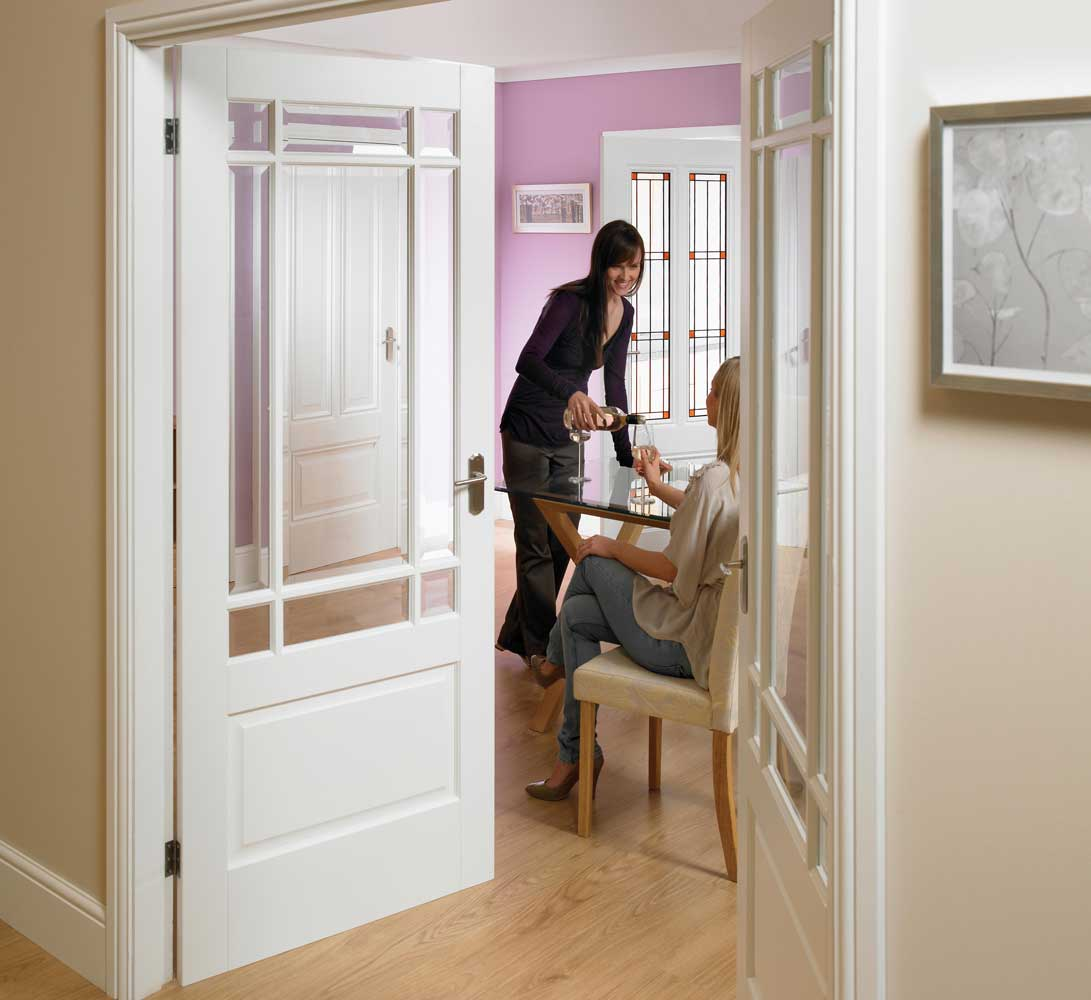 French Doors Interior Frosted Glass An Ideal Material For Use In