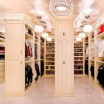 Walk in closet dressing room design – representation of your luxury