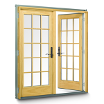 The latest trend in interior design – Interior french doors sidelights