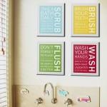 10 Amazing Kids bathroom art ideas To Revamp Your Kids Bathroom