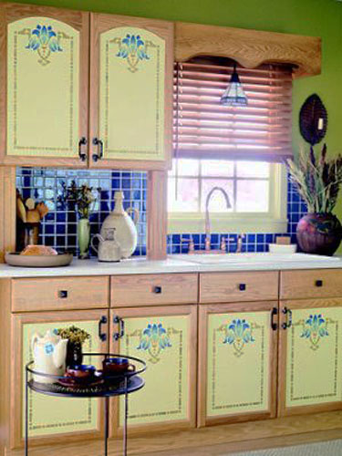TOP 20 Kitchen cabinet stencil ideas 2019