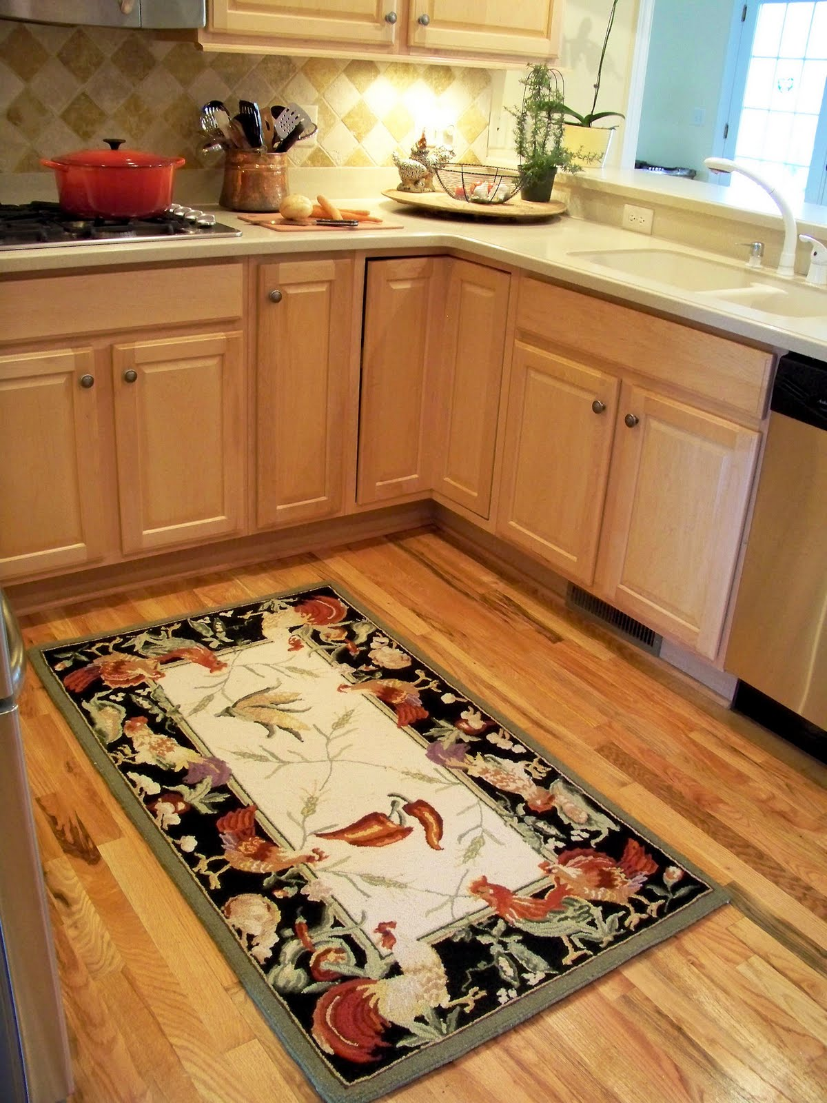 Exceptionnel How To Save Big On L Shaped Kitchen Rugs?