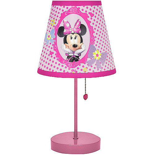 Minnie mouse bedroom lamp