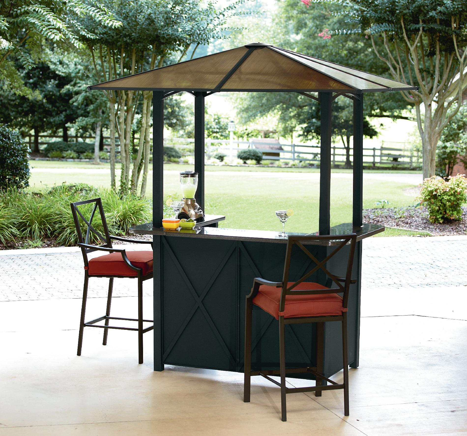 Outdoor Bar Sets with Canopy - Bring Your Outdoors To Life ... on Backyard Patio Bar id=58206