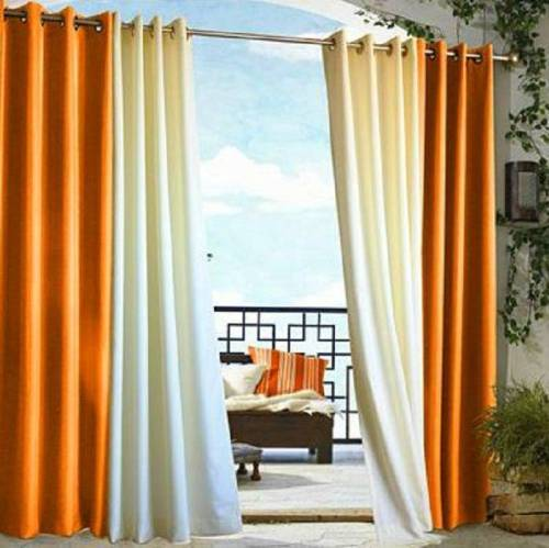 Stylish Outdoor Curtains at Ikea – 10 Photos