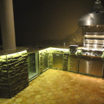 Outdoor kitchen lighting – 18 essentials for a good atmosphere