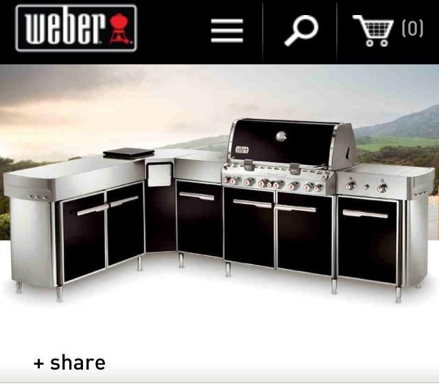 Outdoor kitchen weber – The new trend in outdoor home improvement