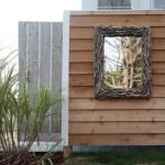 Beautify your outdoor shower with Outdoor shower mirror