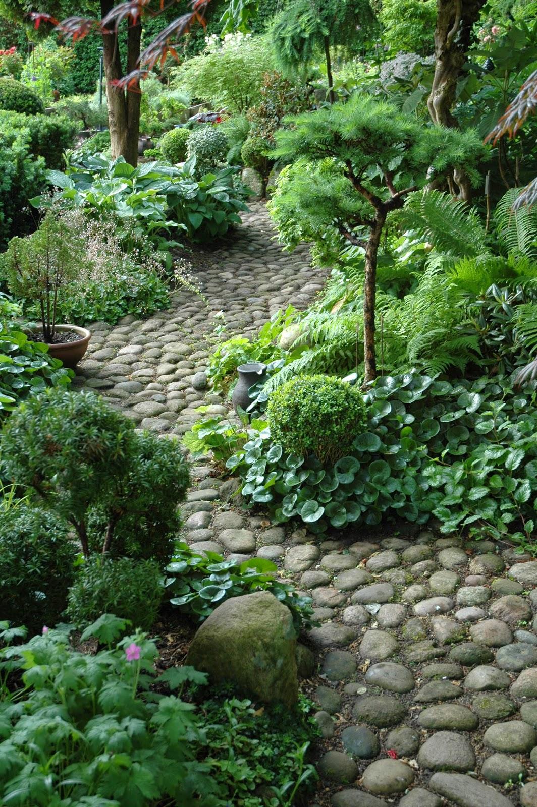 Enhacing Your Landscape River rock garden path | Interior ... on Rock Backyard  id=67285