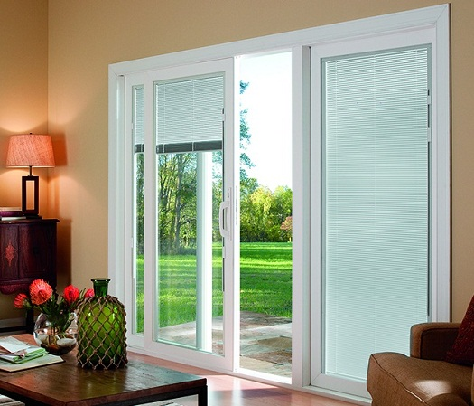 TOP Sliding glass door blinds ideas 2019