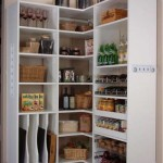 Small kitchen open pantry – must have for all downsized kitchens