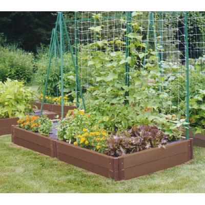 Hidden beauty achieved by veg garden designs