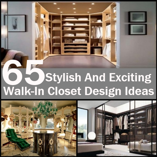 Stylish Walk-in closet design ideas 2016