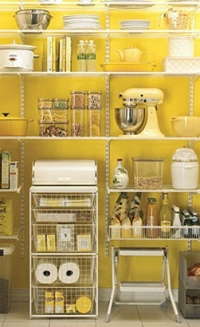 The Beauty of Wall mounted pantry shelves