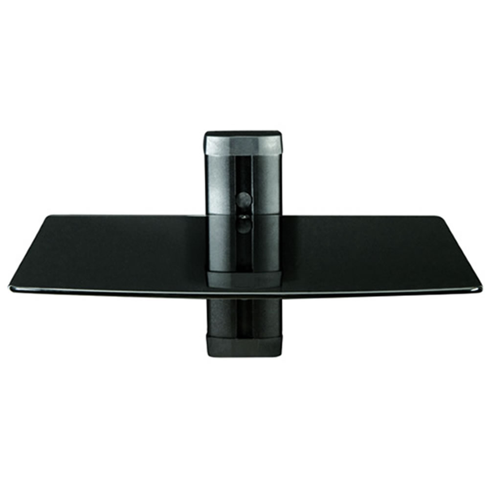 Wall Mounted Shelves For Dvd Player Add Balance