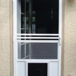 25 factors to consider before installing Dog door for screen door